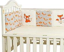 Baby Crib Bumper Toddle Nursery Bedding Cot