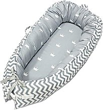 Baby crib soft cotton removable and washable