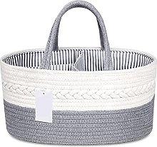 Baby Diaper Basket Diaper Caddy Nursery Storage