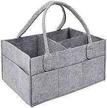 Baby Diaper Caddy, Baby Storage Cart Basket,