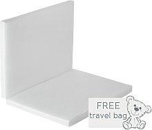 Baby Elegance Foldable Travel Cot Mattress - 100 x 70cm