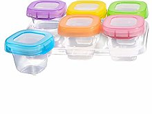 Baby Food Storage Containers Weaning Freezer Pots