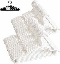 Baby Hangers - 60Pcs Baby Coat Hangers Plastic