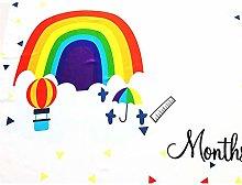 Baby Monthly Milestone Blanket Milestone Blanket