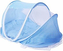 Baby Mosquito Net Bed Polka Dotted Portable Infant