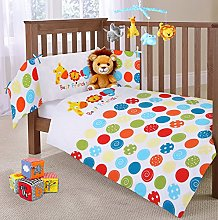 Baby Nursery Bedding Jungle Animals 2 Piece Cot