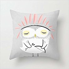 Baby Owl Be Brave Cushion Throw Pillow Decorative