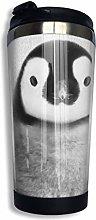 Baby Penguin - Black & White Vacuum Insulated