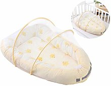 Baby Portable Bed with Mosquito net, Breathable