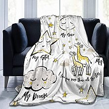 Baby print element cloud star home Blanket Bed