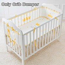 Baby Safe Crib Bumper, Soft Breathable Baby Boys