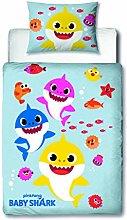 Baby Shark Official Junior Toddler Cot Bed Duvet