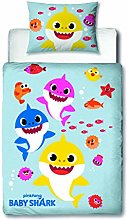 Baby Shark Official Junior Toddler Cot Duvet Cover