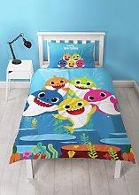 Baby Shark Underwater Children's Bedding Set -