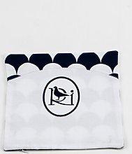 Baby Sheet Set Just Kids Colour: White/Navy Blue,