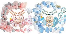 Baby Shower Celebration Decoration Set: Boy
