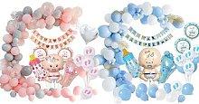 Baby Shower Celebration Decoration Set: Girl