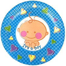 Baby Shower Style 23cm Disposable Paper Party