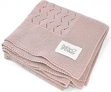 Baby Shower - Tricot Rose Blanket