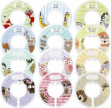Baby Size Tab, 12 Piece Size Divider, Size Divider