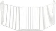BabyDan XL Heart Gate / Configure Gate - White.