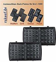 BAC-3000 Baker Waffle Iron Maker Exchangeable