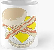 Bacon and Egg Muffin Classic Mug A - Novelty
