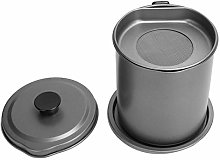 Bacon Grease Container with Strainer, 1.2L/40 Oz