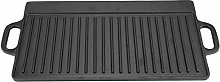 Bacon Griddle Pan,Non-Stick Cast Iron Grill