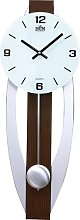 Bacup Wall Clock Metro Lane Colour: Dark Brown