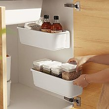 Baffect 2 pcs Kitchen Pull Out Cabinet Basket