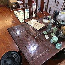 Baffle Divider, Full Transparent Dining Room