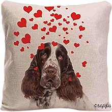 BAGEYOU Dog's Love to You Throw Pillow Cover