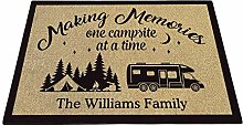 BAGEYOU Personalized Camping Doormat Making