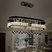 Bagood LED Oval Linear Rain Drop Lighting Lobby