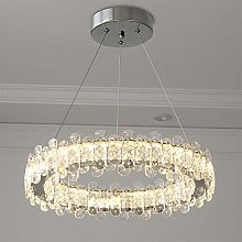 Bagood Ring Crystal Living Room Chandelier Modern