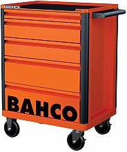 Bahco 1472K5 5 Drawer B Tool Trolley K Orange