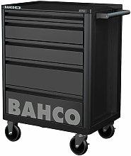 Bahco 1472K5BLACK 5 Drawer B Tool Trolley K Black