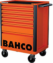 Bahco 1472K7 7 Drawer B Tool Trolley K Orange