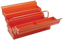 Bahco 3149 Tool Box with 5 Compartments, Orange