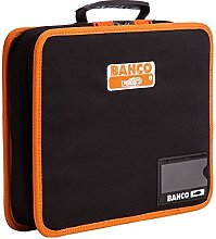 Bahco 4750FB5B Tool Folder with Rubberized Handle,