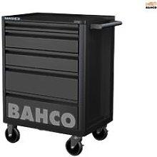 Bahco 5 Drawer B Tool Trolley K Black
