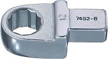Bahco 7452-8-12 Ring Insert Tool, Silver, 12 mm