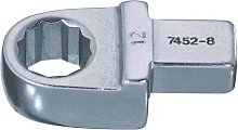 Bahco 7452-8-8 Ring Insert Tool, Silver, 8 mm