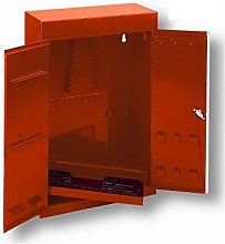 Bahco Tool Cupboard, 2 Doors, Empty, Orange, 1020