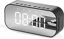 BAIDEFENG Bluetooth Speaker LED Alarm, Clock