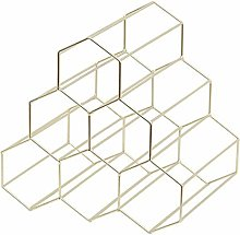 Baifeng Honeycomb Wine Rack Iron Storage Rack