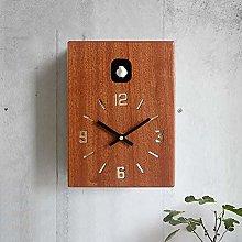 BAIHAO Cuckoo Clock Wall Clock,modern Version Bird