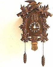 BAIHAO Cuckoo Wall Clock Bird Alarm Clock