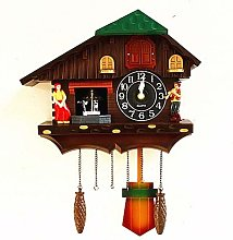 BAIHAO Europe cuckoo clock bird singing wall